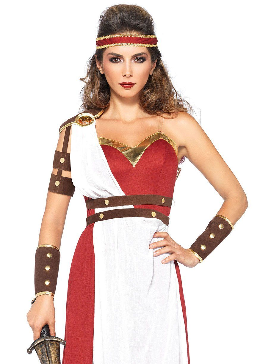 Spartan Goddess Warrior Halloween Costume