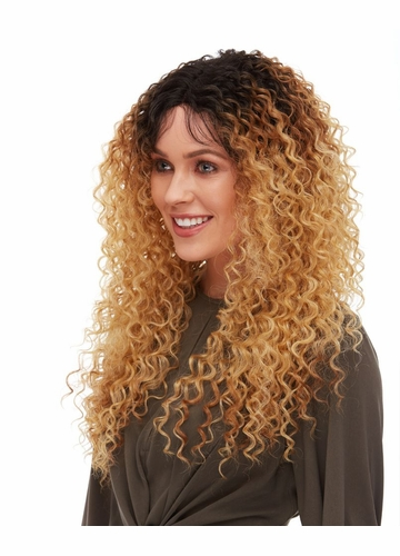 Spiral Curl Lace Frotn Wig Maxie