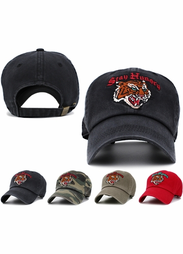 Stay Hungry Vintage Ballcap