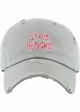 Stay Hungry Vintage Baseball Hat inset 3