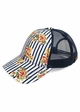 Stripes and Roses CC Brand Baseball Hat inset 2