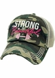 STRONG IS BEAUTIFUL Trucker Hat inset 1