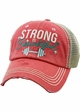 STRONG IS BEAUTIFUL Trucker Hat inset 2