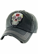 Sugar Skull Patch Baseball Hat inset 3