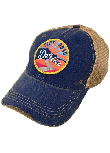 Sunset Dirt Road Darlin' Trucker Hat