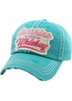 SUNSHINE AND WHISKEY Vintage Multi Color Patch Ballcap inset 1
