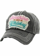 SUNSHINE AND WHISKEY Vintage Multi Color Patch Ballcap inset 2