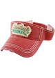 Sunshine & Whiskey Washed Vintage Sun Visor inset 2
