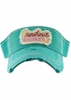 Sunshine & Whiskey Washed Vintage Sun Visor inset 3