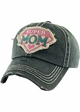 Super Mom Vintage Patch Baseball Hat inset 1