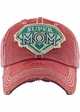 Super Mom Vintage Patch Baseball Hat inset 2