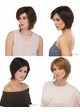 Tapered Bob Wig with Sideswept Bangs Raquel inset 3