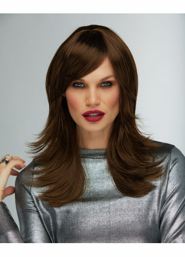 Textured Wig Hannah in Chocolate Brown