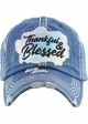 THANKFUL & BLESSED Washed Vintage Ballcap inset 1