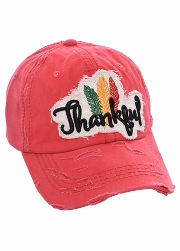 Thankful Patch Baseball Hat