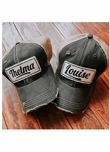 Thelma & Louise Patch Trucker Hat