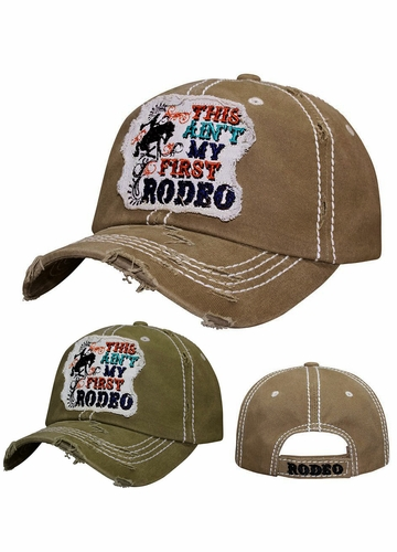 This Ain't My First Rodeo Patch Baseball Hat