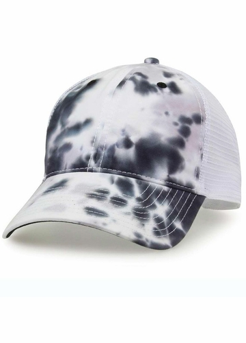 Tie Dye Cloud Trucker Hat