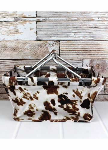 Till The Cows Come Home Collapsible Market Basket