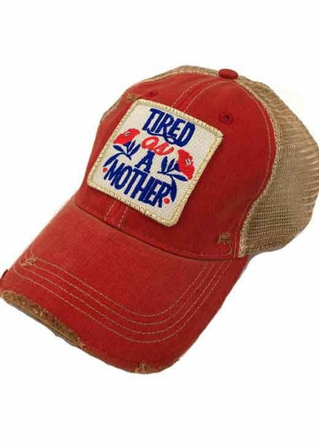 Tired as a Mother Baseball Hat