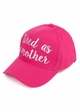 Tired As A Mother CC Brand Baseball Hat inset 1