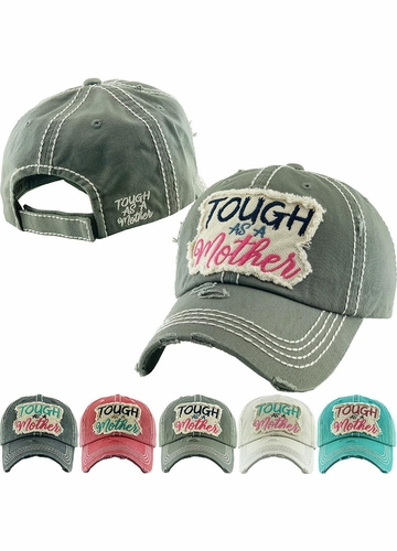 Tough as a Mother Vintage Baseball Hat