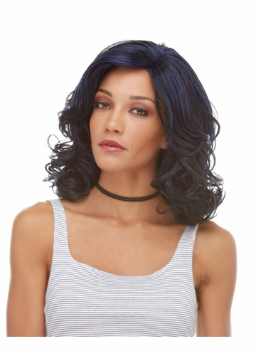 Tousled Curl Hand Tied Lace Front Wig Reagan