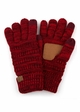 Two Tone Smart Tip CC Gloves with Lining inset 2