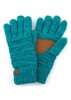 Two Tone Smart Tip CC Gloves with Lining inset 3