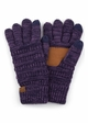 Two Tone Smart Tip CC Gloves with Lining inset 4