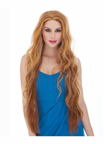 Ultra Long and Wavy Lace Front Wig Montana