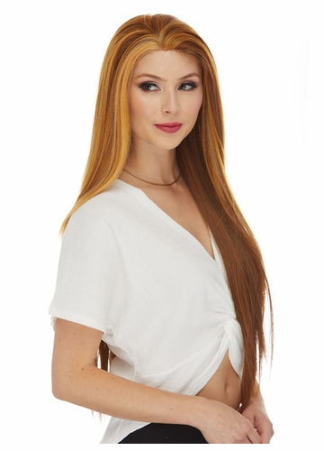 Ultra Long Straight Lace Front Wig Hawaii