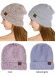 Ultra Soft Two Tone CC Beanie Hat inset 1