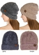 Ultra Soft Two Tone CC Beanie Hat inset 2
