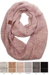 fc8423985 Ultra Soft Two Tone CC Infinity Scarf $19.00