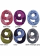 VERY LIMITED Contrast Two Tone CC Scarf inset 1