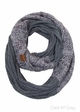 VERY LIMITED Contrast Two Tone CC Scarf inset 2