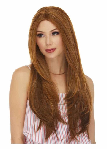 Very Long Swiss Lace Front Wig Lindsey
