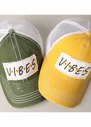 Vibes Patch Baseball Hat