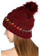 Warm CC Hat with Pom and Ombre Trim inset 4
