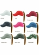 Washed Cotton Ponytail Baseball Hat available in 20 colors inset 1