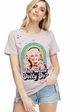 What Would Dolly Do? Distressed T-shirt inset 2