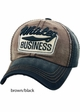 Whiskey Business Vintage Baseball Hat inset 2