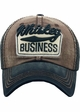 Whiskey Business Vintage Baseball Hat inset 4