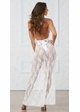 White Lace Halter Gown inset 1