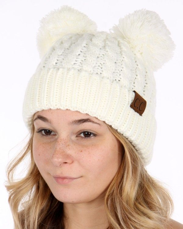 white-thick-knit-cc-beanie-hat-with-double-pom-2.jpg 89f2f83f0d8