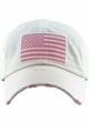 White US Flag Distressed Tactical Operator Baseball Hat inset 1