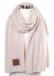 Wide Ribbed CC Scarf inset 2