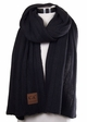 Wide Ribbed CC Scarf inset 4