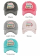 WIFE MOM BOSS Washed Vintage Baseball Cap inset 2